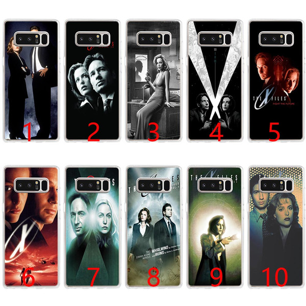 The X Files Soft Silicone Phone Case for Samsung Note 9 8 S7 Edge S8 S9 Plus