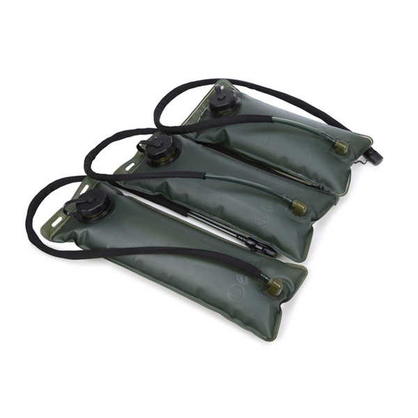Foldable PEVA Sport Hydration Bladder Small mouth Outdoor Water Bag For Camping Hiking Climbing Cycling Running 2L 2.5L 3L
