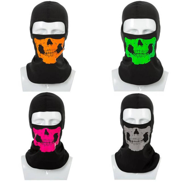 Sun Wind And Dust Mask Riding Skull Face Mask Outdoor Sport Winter Warm face Helmet dustproof windproof ski New P#