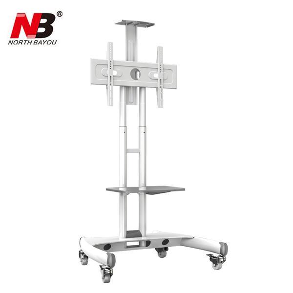 "NB AVA1500-60-1P Mobile TV Cart 32""-65"" Flat Panel LED LCD Plasma TV Stand With Camera Tray and AV Shelf"