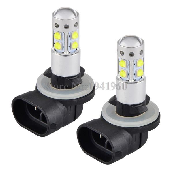 top popular NICECNC 100W LED Headlight Bulb 881 ATV LED Lamp For Polaris Utility Ranger 500 700 800 EFI 4X4 6X6 EV LSV RZR 570 CREW 08-2014 2019