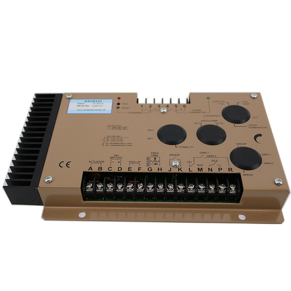 Generator Speed Controller ESD5330 Speed Range/Governor 1K to 7.5K Hz Continuous