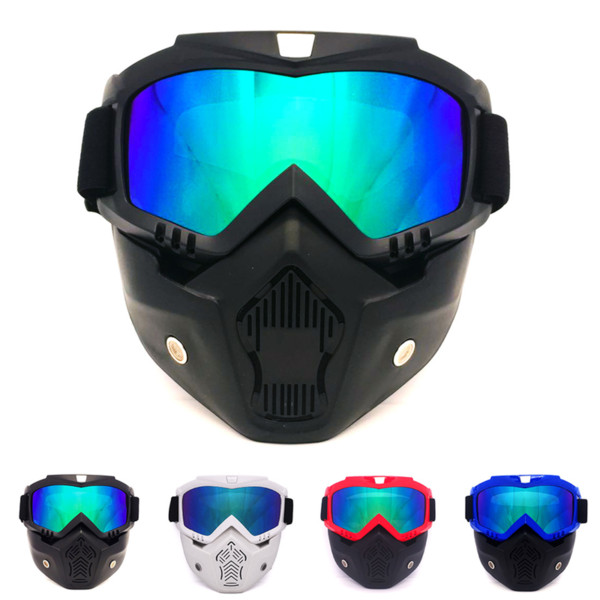 professional Retro Motorcycle helmet Goggle Mask Vintave mask open face helmet cross goggle 9 color available CE approved