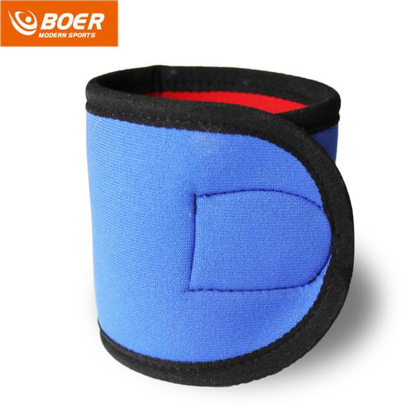 BOER 1Pc Adjustable Sports Wristband Gym Wrist Thumb Support Straps Wraps Bandage Fitness Training Safety Hand Band Wrist A40