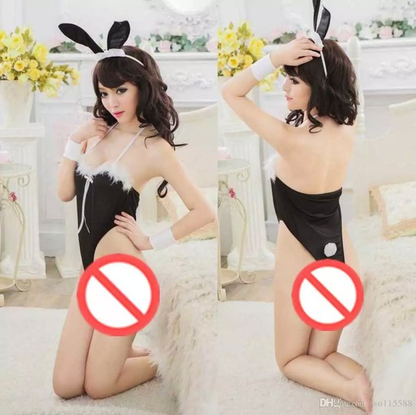 bdf25530fa4 2018 New Sexy Lingerie Cosplay Uniforms Sexy Rabbit Girl Suit Extreme  Temptation Perspective Cat Female Passion Sm Open File Piece From Sunmiss,  $7.5 ...