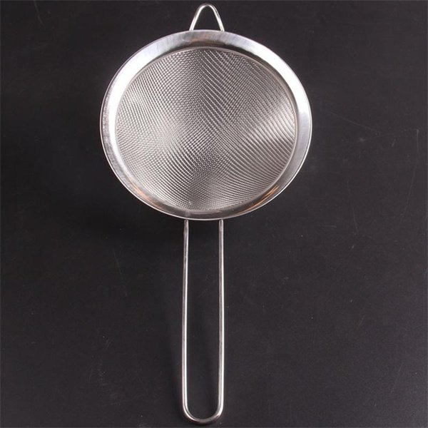 Top Quality Colanders Oil Spoon Sieve Filter Net Stainless Steel Broad Edge Mesh Kitchen Articles Strainers 3 9am2 ii