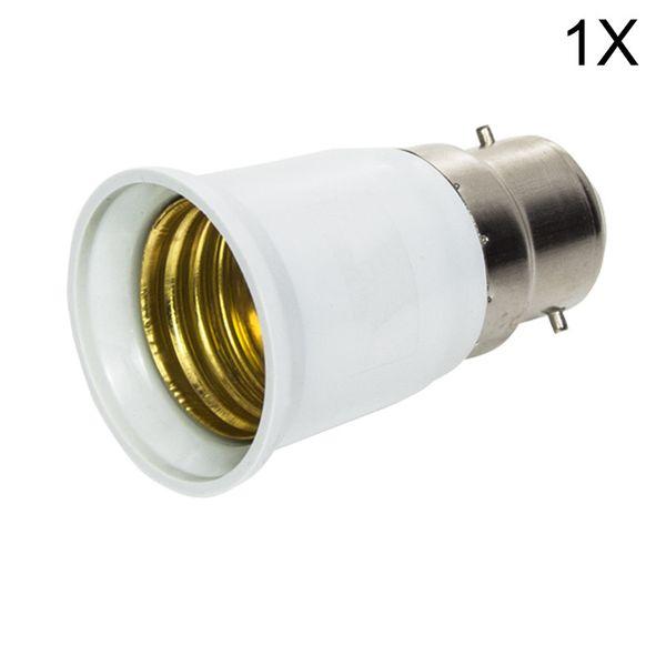 1x большой Promortion B22 к E27 база светодиодные лампы лампы огнестойкий держатель адаптер конвертер гнездо изменения