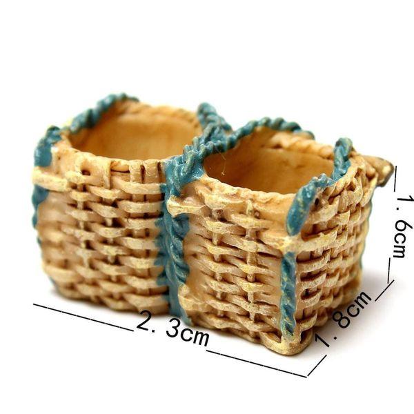 small decorative baskets.htm miniature dollhouse garden ornament pot plant craft home decor  miniature dollhouse garden ornament pot