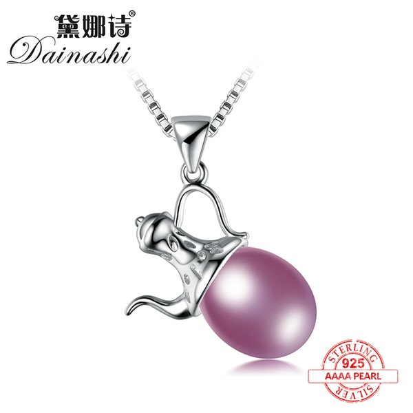 Dainashi Personalized design Kettle shape 925 pendenti in argento sterling di alta qualità in argento sterling con catena di gioielli