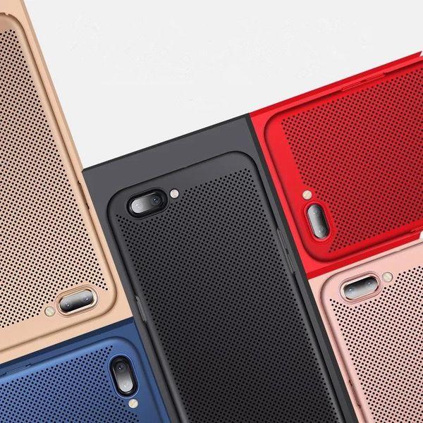 Mehrfarbentelefon-Kasten-dünne PC-Telefon-Kästen einfache ausstrahlende rückseitige Abdeckungs-Handy-Fall für OPPO 50pcs MPS6