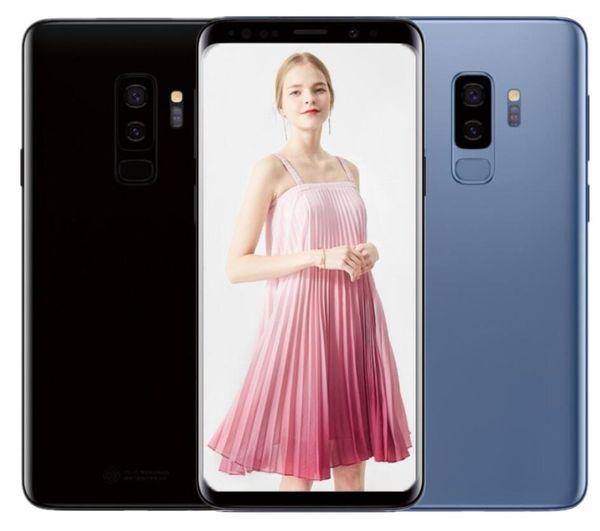 ERQIYU Goophone S9 S9+ plus smartphones 4G RAM 128G ROM 6.1inch unlocked android 8.0 shown 4G LTE 16.0mp Cell phones