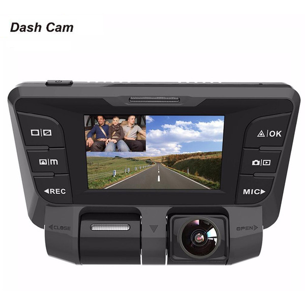 Vehicle Electronics & GPS Car Video 2 WiFi 4K 2160P 1080P Dash Cam 170° Dual Lens Car DVR Camera Motion Detection