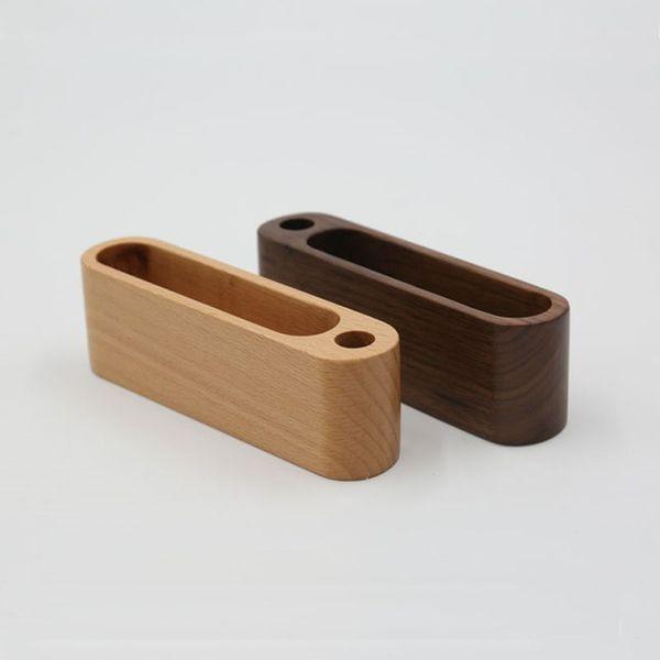 Großhandel Kreative Holz Visitenkartenetui Hinweis Halter Lagerregal Desktop Kartenhalter Für Home Office Storage Qw7106 Von Perfumeliang 4 92 Auf