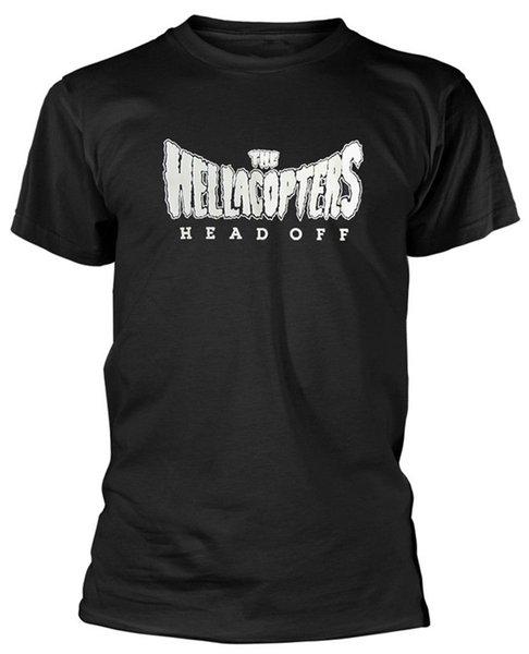 El Hellacopters 'Cabeza Off' Футболка - Nuevo y Oficial 2018 Новый Чистый Хлопок с короткими рукавами Hip Hop Fashion Mens T-Shirt