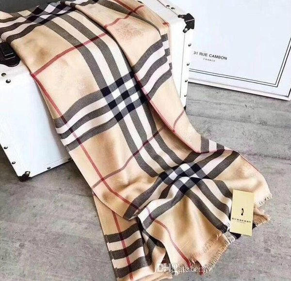 Роскошные зимние кашемир шарф пашмины для женщин бренд дизайнер мужской теплый плед шарф мода женщины имитировать Кашемировая шерсть шарфы 180x70cm