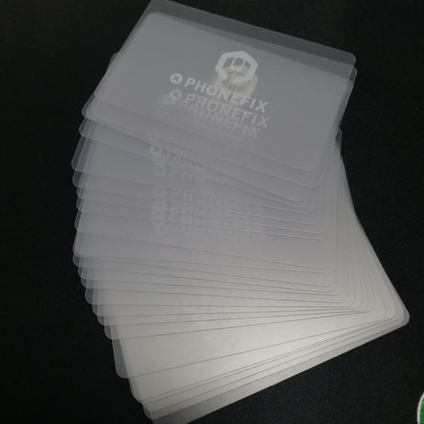 FIXPHONE En Plastique Carte Pry Ouverture Grattoir LCD Écran Outils D'ouverture pour iPhone iPad Samsung Xiaomi Téléphone Mobile De Réparation Outil