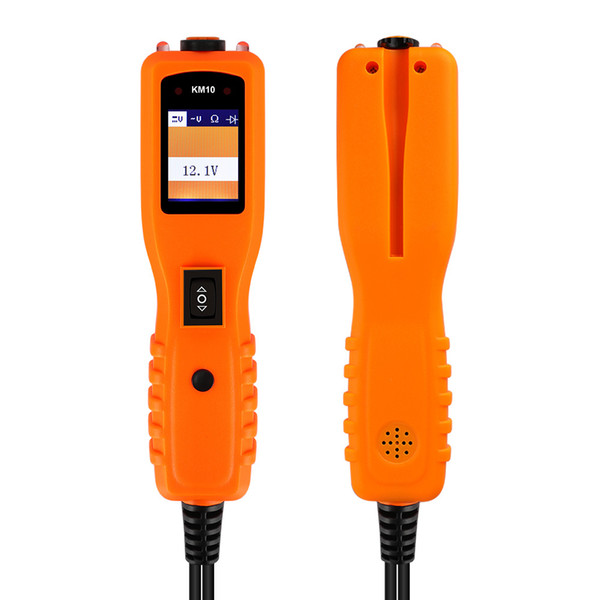 KZYEE KM10 Testador de Circuito Elétrico de Energia Elétrica Automotive Diagnostics Sistema de Diagnóstico 12 V Carro Reparos Ferramenta de Diagnóstico