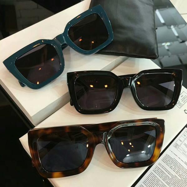Square Sunglasses CL41450 Shiny Black Frame/Smoke Lens Sonnenbrille occhiali da sole Luxury Designer Sunglasses Women glasses New wth box