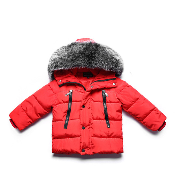 Compre Chaquetas De Invierno Para Niñas Abrigos De Algodón Para Niñas Abrigos De Parka Hodded Chaqueta De Abrigo Y Gruesa Bebé Cálido De Invierno