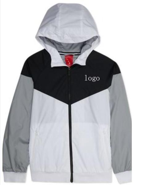 2018 Luxury Men's Designer Jacket Coats Thin Higt Quality Brand Men Sports Windbreaker Zipper Nice Jackets Hoode Hoodie Men's Clothing