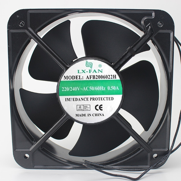 Free Shipping LX-FAN AFB2006022H 20060 220V AC axial Cooling fan 200 * 200 * 60MM