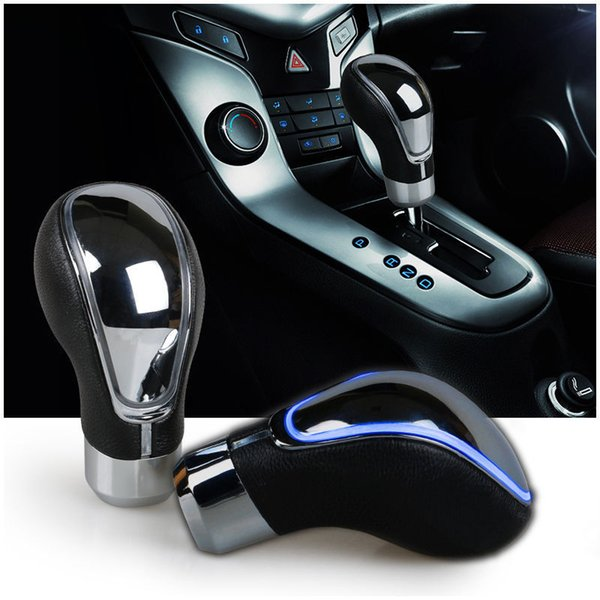Universal Car Gear Shift knob Touch Activated Sensor LED Light RGB Multi-Color for MT AT