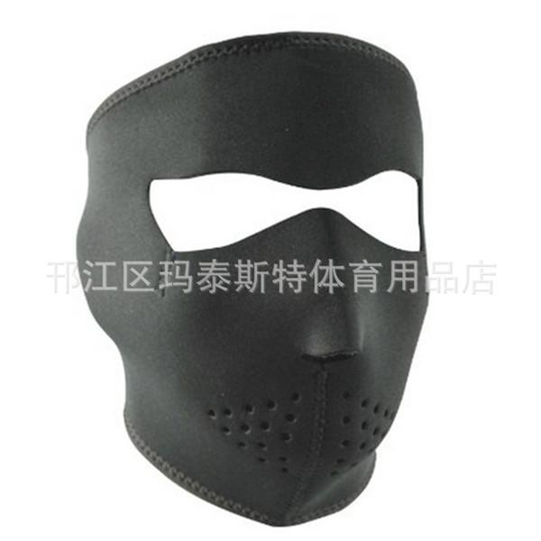 Riding Skiing Mask Keep Warm Wind Proof Black Skull Bike Cycling Masks Reusable Dust Proof Wear Resistant 7mt jj
