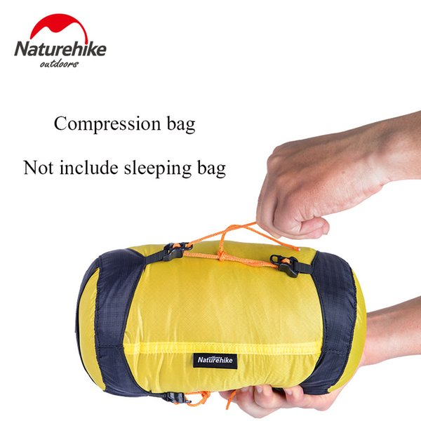 NatureHike NH16S668 Compression Stuff Sack Storage Carry Bag For Sleeping Bag Accessories Camping Hiking