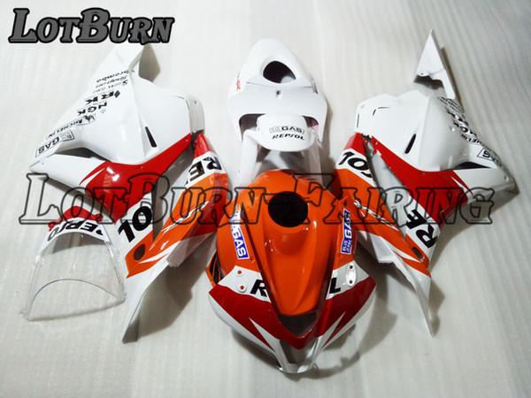 Bodywork Moto Fairings Fit For Honda CBR600RR CBR600 CBR 600 RR F5 2007 2008 07 08 Fairing kit Custom Made High Quality ABS Plastic 007