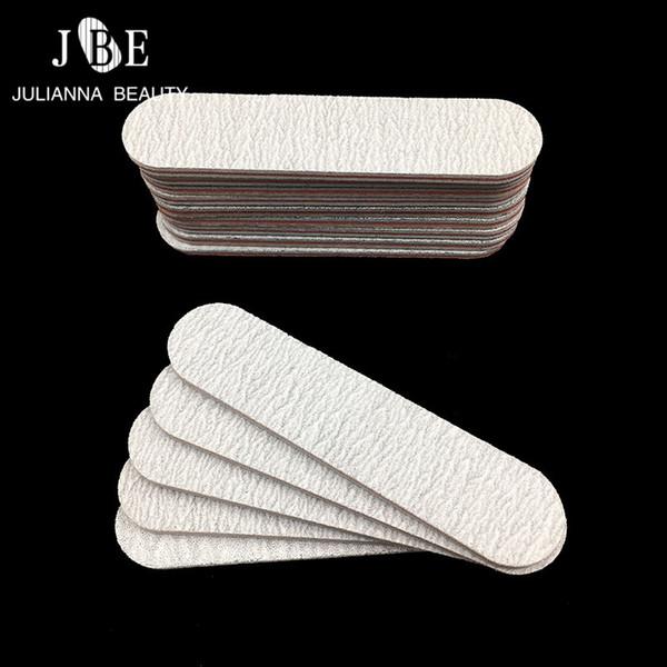 10PCS Grey Mini Nail File Sanding Buffer Block Pedicure Manicure Buffing Polish Beauty Tools Professional Nail Files 100/180