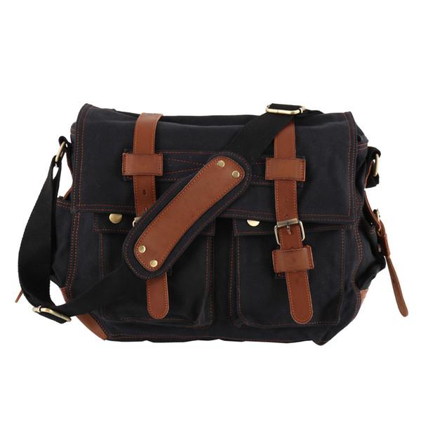 Erkekler messenger çanta kanvas deri büyük omuz çantası ünlü tasarımcı markalar yüksek kalite erkekler seyahat çantaları yüksek kalite