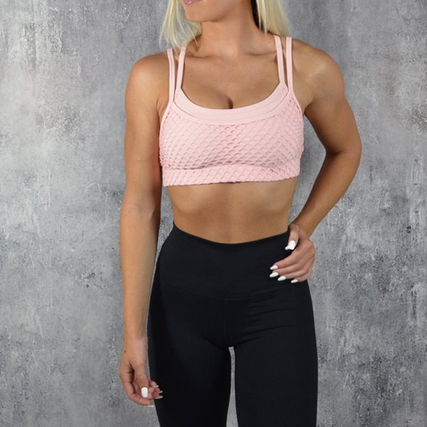 ... Hacia Fuera el sujetador de Yoga Transpirable Sujetador Deportivo de  Las Mujeres A Prueba de Golpes a prueba de agua Chaleco de Gimnasio Push Up Bra  Gym ... 789a2728c97c