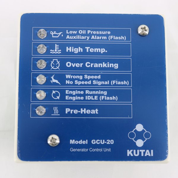 GCU-20 Automatic Engine & Generator Control Unit provide IDLE control for electronic governors