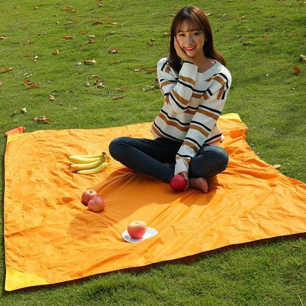 AONIJIE Katlanabilir Katlanır Açık Kamp Mat Taşınabilir Cep Kompakt Moistureproof ped Battaniye Su Geçirmez Sandalye Piknik Paspaslar