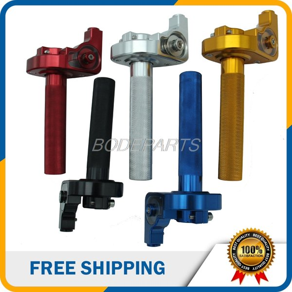 Motorcycle ATV Dirt Bike Parts Turn Aluminum Twsit Handle Throttle Cable Grips For Motorcycle Off road Vehicle ATV Pit Bike Use