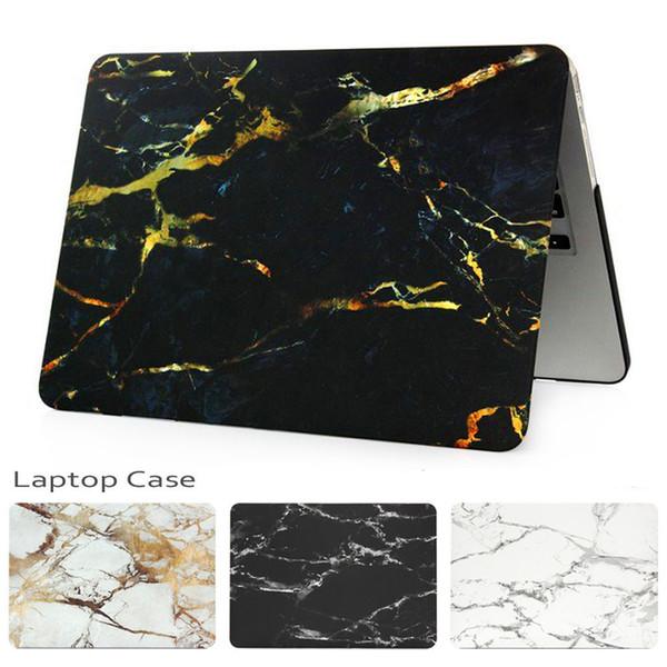 Funda para laptop de la serie completa para Macbook Air / Pro Retina Nueva cubierta protectora completa para portátil de mármol duro