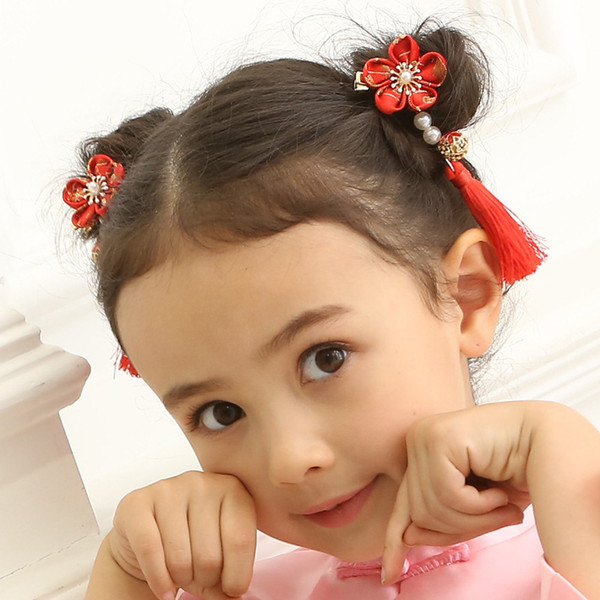 best selling Child Baby Kid Girls Hairwear Headdress Set Diamond Crown Jewelry Hair Pin Princess Hair Clips Hair Accessories Baby Birthday Party Gift Box