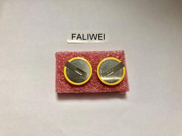 Дешевый Кнопочные батареи 5PCS / LOT батареи LIR2032 2032 штифтами 90 градусов 3.6V литиевых / быстрая доставка