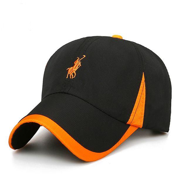 2018 Nouvelle casquette de baseball loisirs sport casquette été séchage rapide chapeau de soleil unisexe protection UV extérieure casquettes de baseball 100% coton