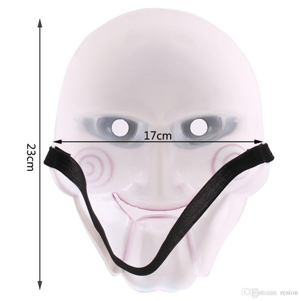 Wholesale 2016 New Hot Selling Halloween Mask Saw chainsaw killer theme mask original made of quality PVC