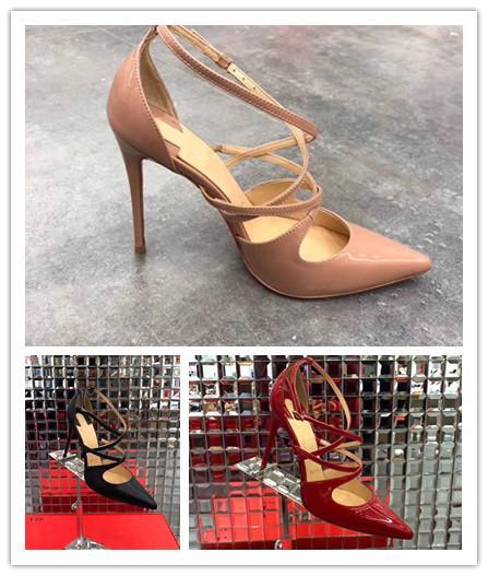2018 Tasarımcı kadınlar yüksek topuklu 10 cm parti moda kızlar seksi ayakkabı Dans ayakkabıları düğün ayakkabı Çift sapanlar sandalet