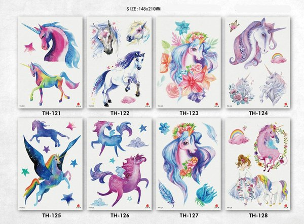 Best Cool Products Design Fashion Temporary Tattoo Stickers Temporary Body Art Waterproof Tattoo Pattern Wholesales Colorful