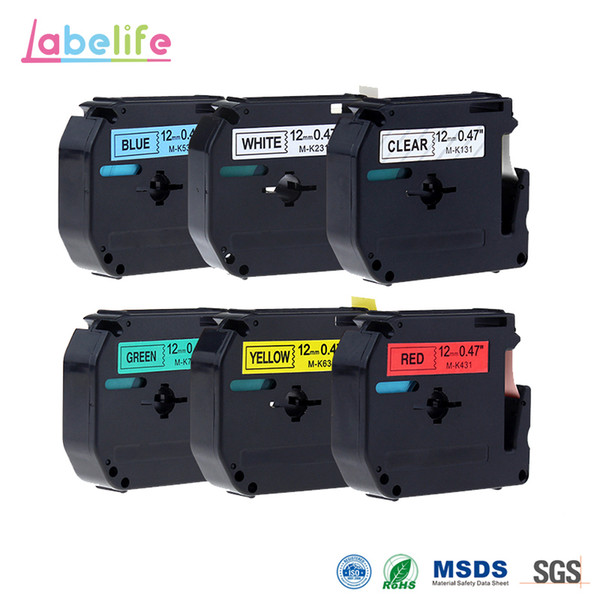 vhbw® 800 DRUCKER ETIKETTEN 62x29mm WASSERFEST für BROTHER P-touch QL-500BW