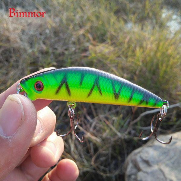 Brand Lifelike 3D Eyes Minnow Fishing Lure 7CM 8.5G 6# Hooks Fish Wobbler Tackle Crankbait Artificial Japan Hard Bait Y1890402