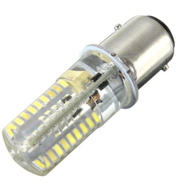 72 LED Glühbirne BAY15D 1157 3014SMD Silikon Kristall Marine Lichter Auto Boot Lampe Warm Reinweiß Beleuchtung AC / DC12-24V