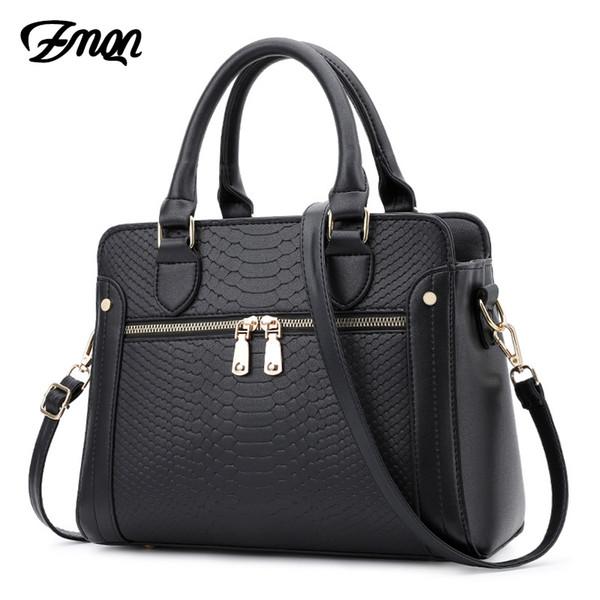 ZMQN Women Bag Handbags Women Famous Brands Crocodile Leather Bags For 2018 Luxury Handbags Hand Bag Designer Bolsa