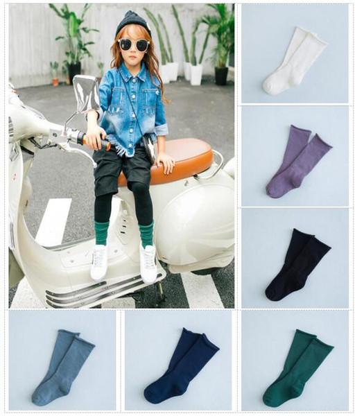 Women's Socks & Hosiery Brave Korean Style Toddlers Kids Girls Fox Pattern Knee High Socks For Age 1-4 Years Leg Warmer Stockings Hot Stockings