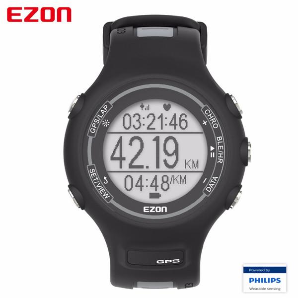 2017 EZON T907-HR Bluetooth Smart Watches оптический датчик монитор сердечного ритма GPS работает цифровые часы для IOS Android