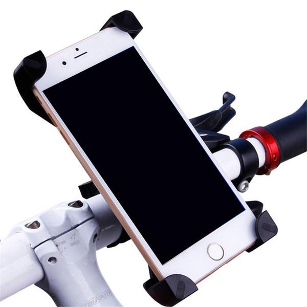 Supporto universale del basamento del manubrio del supporto del manubrio del supporto del telefono della bici rotante della bicicletta 360 per il cellulare mobile astuto con il pacchetto al minuto
