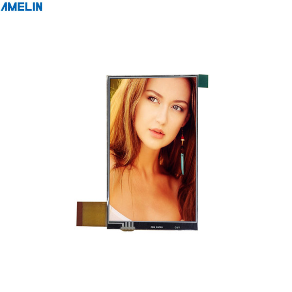 4 inch 480*800 RGB interface tft lcd module touch screen with RTP display from shenzhen amelin panel manufacture